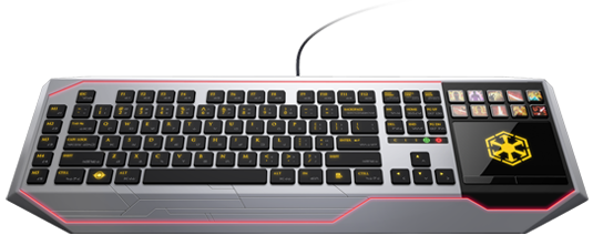 SWTOR Keyboards set for release.